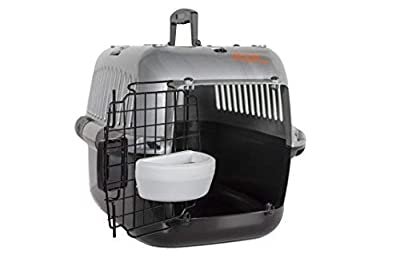 RAC Pet Carrier Top Loading Plastic Portable Transport Cage by RAC