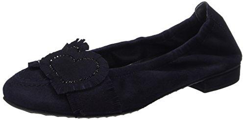Kennel und Schmenger Schuhmanufaktur - Malu, Ballerine Donna Blau (Ocean/Black)