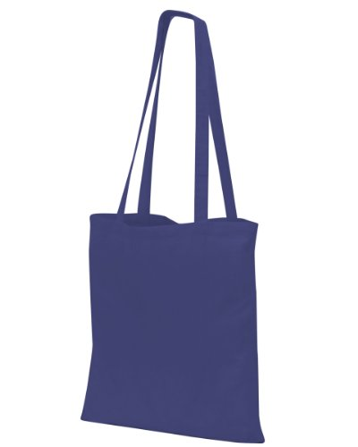 Shugon Guildford cotone Shopper/Borsa a spalla Navy blue