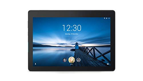 Lenovo Tab E10 25, 5 cm (10, 1 Zoll HD IPS Touch) Tablet-PC (Qualcomm APQ8009 Quad-Core, 2 GB RAM, 32 GB eMCP, Wi-Fi, Android 8.1) Schwarz (5-zoll-tablet)