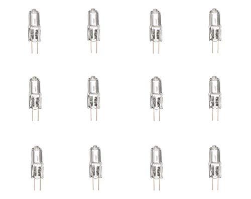 Diall G4 Kapsel-Halogen-Glühbirne, 260 lm, 16 W, 12 V, 12 Stück (3 x 4 Stück) -