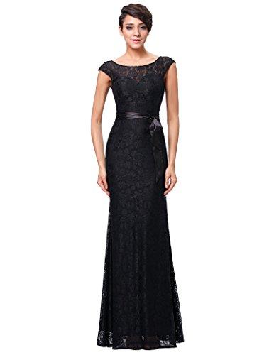Kate Kasin Damen Partykleid Braut Kleid Sommerkleid Homecoming Kleid 34 KK203-1 Braut Kleid Kleid