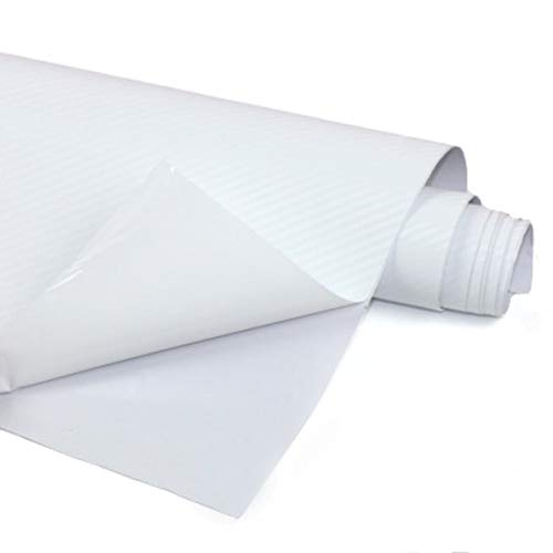 Garciadia DIY 3D-Carbon-Faser-Auto-Aufkleber-Vinylfilm-Verpackungs-Rollen Adhesive Auto-Aufkleber-Blatt