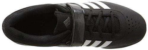 Adidas Powerlift 2.0 Weightlifting Schuh Black/White/Night Metallic/Grey
