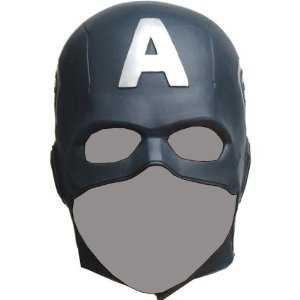 Blue Samurai Kostüm - CAPTAIN AMERICA The Avengers Mask Rubber Party Mask Full face Head Costume (japan import)