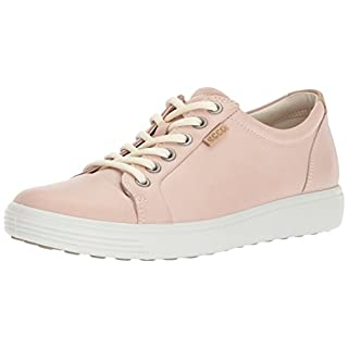 Ecco Damen Soft 7 Ladies Sneaker, Pink (Rose Dust), 41 EU