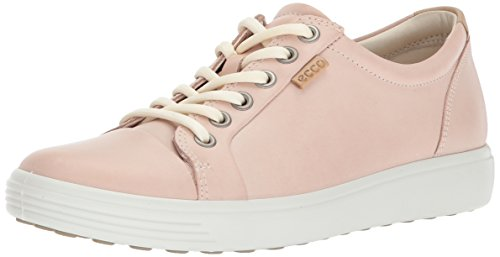 Ecco Damen Soft 7 Sneaker, Pink (Rose Dust), 40 EU