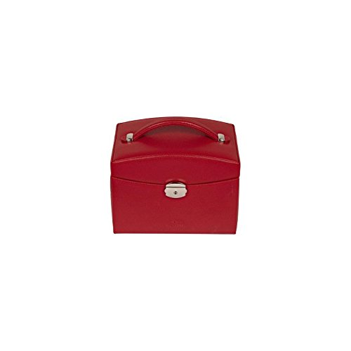 Windrose Beluga Schmuckkoffer red_red x