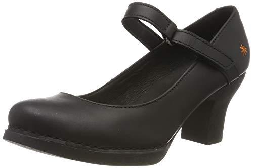 Art Harlem, Zapatos de tacón con Punta Cerrada para Mujer, Negro Black Black, 36 EU