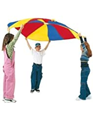 Pacific Play Tents Funchute 6' Parachute With Nine Handles - Great For Encouraging Group Play Jouets, Jeux, Enfant, Peu, Nourrisson