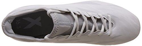 adidas Herren X 16.3 Fg Fußballschuhe weiß / grau