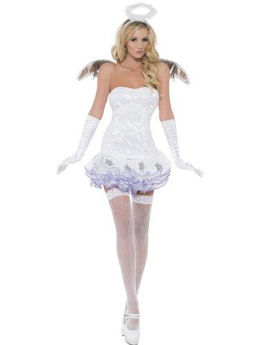 Sexy Engelskostüm Kostüm Engel Schutzengel, Größe:M
