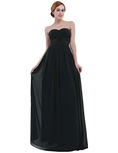 iEFiEL Damen festliches Kleid lange Abendkleider Cocktailkleid ...