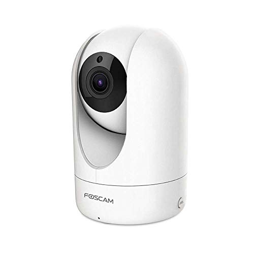 Foscam R4M - Super HD IP WLAN Dual-Band Überwachungskamera I IP-Kamera mit 4 MP und 10m Nachtsicht I WLAN Kamera mit Bewegungserkennung I 2-Way-Audio-Sytem Kamera mit microSD-Kartenslot -