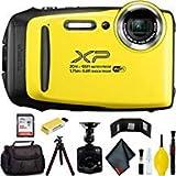 FUJIFILM FinePix XP130 Digital Camera (Yellow) Master Bundle