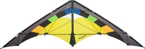 """Aquilone acrobatico Fazer """"Desert"""" HQ-Invento a 2 cavi da velocità e potenza. Dimensioni: 207 x 72 cm."""