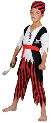 SHIPWRECK PIRATE CHILDREN KIDS COSTUME FANCY DRESS UP (Dress Up Pirate Ideen)