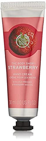 The Body Shop Hand Cream 30 ml, Strawberry