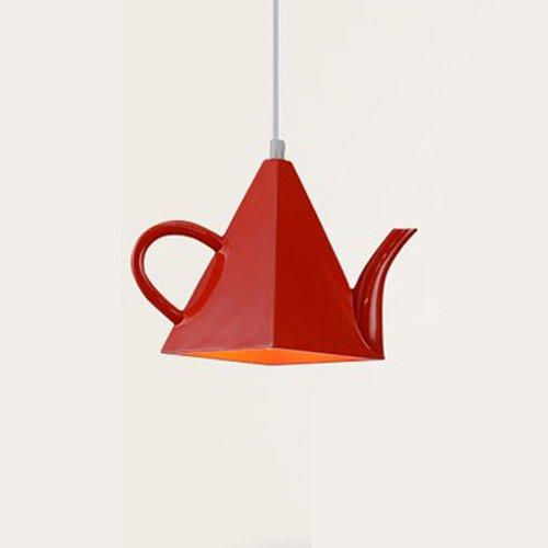 Modeen Teekanne LED Hängelicht Modern Metall Pendelleuchte Art Deco Licht Kreativ Eisen...