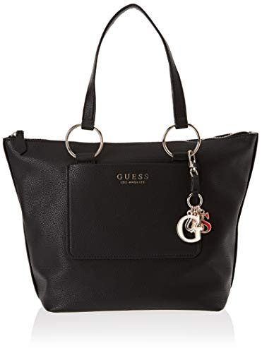 Guess Damen Sally Tote, Schwarz (Black/Bla), 43x30.5x16 centimeters - Kollektion Zip Tote
