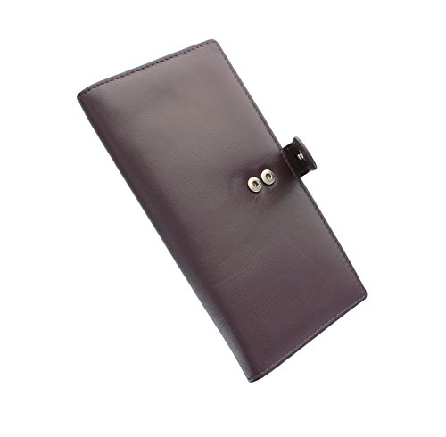 Borsa in pelle Mala Leather Collezione ORIGIN con Protezione RFID 3298_5 Verde Prugna