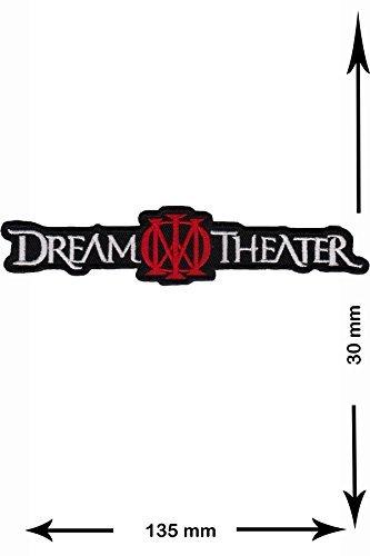 Dream Theater HQ Musicpatch Rock Jacke Weste T- shirt Logo Aufnäher bestickt Logo Sign Costum Geschenk -
