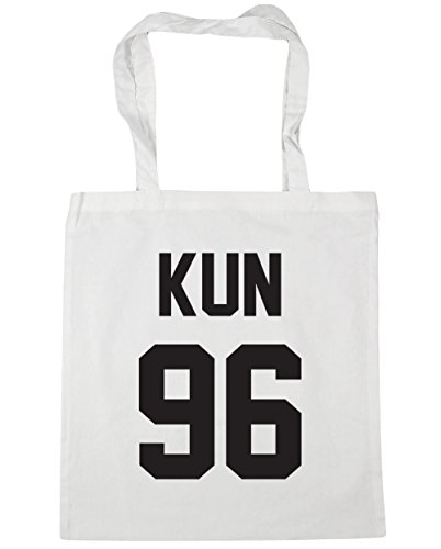 hippowarehouse-kun-96-printed-on-the-black-tote-shopping-gym-beach-bag-42cm-x38cm-10-litres