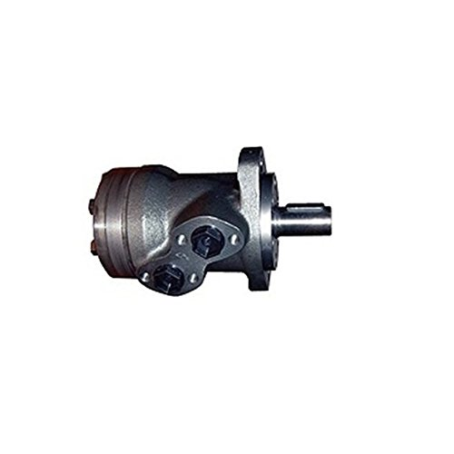 M + S Hydraulische Rolle geroter Motor, 80CC/Rev, 25mm gerade eingegeben Schaft, 2Bolzen Mount. C/W High Druck Schaft Dichtung, hinten Portiert. (Hydraulik-motor Mount)