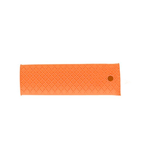 Zubita Silicone Hot Handle Holder, Pan Handle Sleeve Heat Resistant Eco-friendly Cookware Handle Cover Cookware Sleeve Grip for Kitchen Cooking and Baking 6 x 2 Inches (Orange)