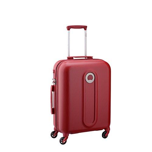 Delsey Paris Helium Classic 2 Maleta, Rojo (Rouge), 55 cm / 34 liters
