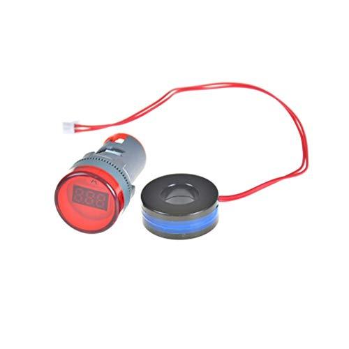 Voltage Meters - Current Indicator Signal Light Ammeter Tester Measuring 0 100a Ampere Meter Power 220vac 22mm - Test Fluke Meters Voltage Voltage Meters High Current Ammeter Amper Meter Tester D - Fluke Power Meter