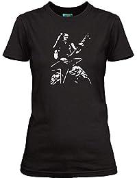 Women/'s T-Shirt Dimebag Darrell Cowboy From Hell Pantera Damage Plan inspired