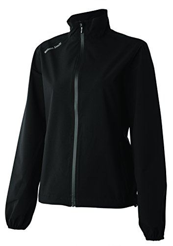 Wilson Regenanzug Jacke für Golferinnen, Performance Top, Polyester, schwarz, Gr. L, WGA700281 Top-performance-jacke