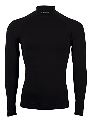 Joma brama classic - maglia termica a manica lunga da bambino, colore nero  taglia 8-10 anni