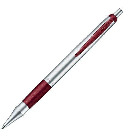 CLEO Colour matt / purpurrot +++ Druckkugelschreiber, Mine: BLAU +++ lackverziert und palladiniert...