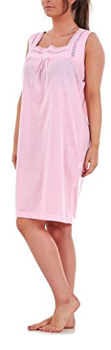 i-Smalls Ladies Sleeveless Plain Modern Nightshirt with Eye Mask