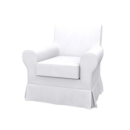Soferia - IKEA EKTORP JENNYLUND Funda para sillón, Eco Leather White