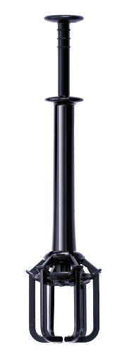 teatool Tea Tool, Steel, Black, 10x5x5cm