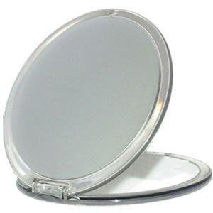 Miroir Grossissant X 10 - Double face rond 11 cm - Spécial Beauté Sac à Main
