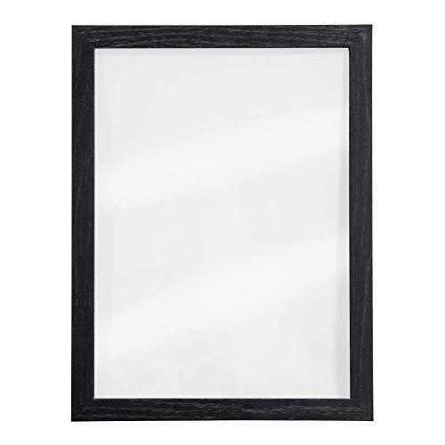 Wandmontage, Holzrahmen, Glas, trocken abwischbar, doppelseitig, 30 x 40