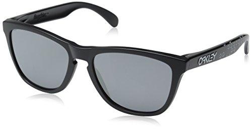 Oakley Herren 0OO9013 Sonnenbrille, Weiß (Matte Black), 54