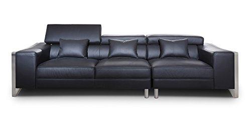 big sofa leder schwarz bestseller shop f r m bel und einrichtungen. Black Bedroom Furniture Sets. Home Design Ideas
