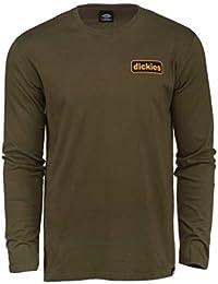 Amazon.es  Dickies - Camisetas de manga larga   Camisetas 60866e77c1d