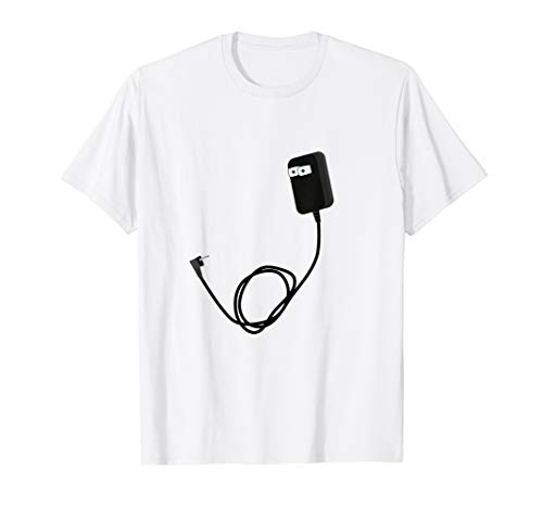 Steckdose Kostüm - Ladegerät und Steckdose Paar Kostüme Halloween  T-Shirt