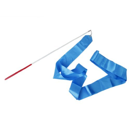 Gym Dance Band Rhythmische Gymnastik Streamer Rod Twirling Chinese New Year Partei–blau