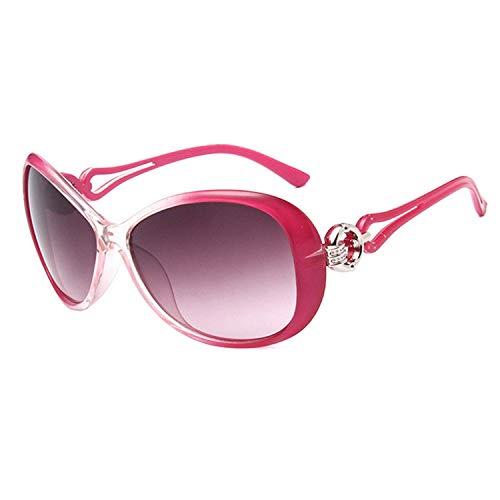 WERERT Sportbrille Sonnenbrillen Vintage Gradient L Sunglasses Women Classic Oversized Sun Glasses Uv400 Feminino