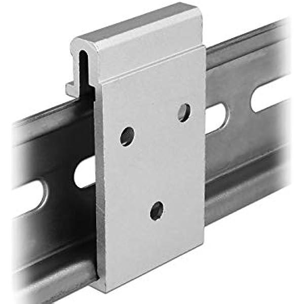 Delock Aluminium Montageclip Für Hutschiene Elektronik