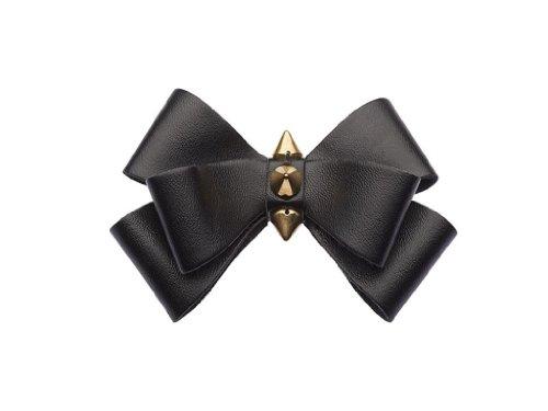 """La Loria - Donna Clip Decorative Per Scarpe """"Like Spike"""" Gioielli, Spille, le clip del pattino in colore nero - 1 Coppia"""