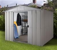 Yardmaster Metallgerätehaus Gerätehaus SACHSEN 67 von YardMaster auf Du und dein Garten