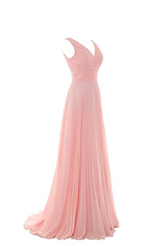 YiYaDawn Langes Prinzesssin Ballkleid Hochzeitskleid Abendkleid für ...